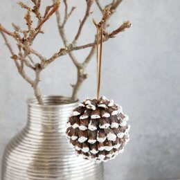 Cone Tree Decoration- SAVE 50%