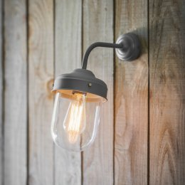 Big Barn Lamp - Charcoal