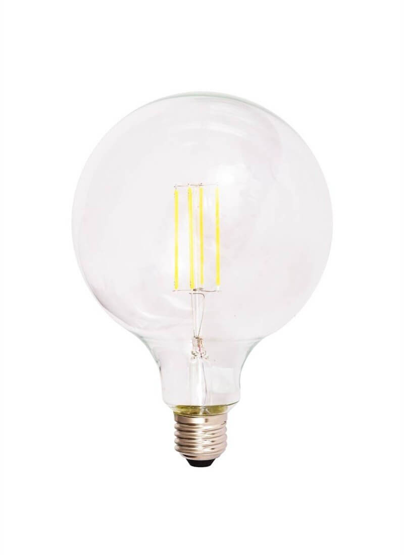 Filament Light Bulb - Extra Large Globe 12.5cm