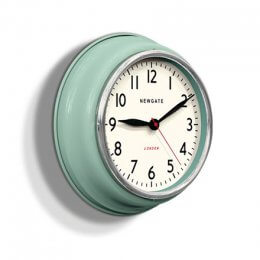 The Cookhouse Clock by Newgate - Kettle Green save 30%