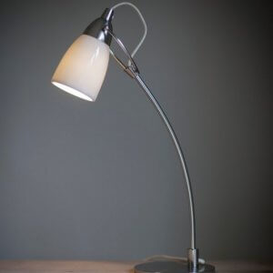 Shoreditch Table Lamp - White - ONLY 1 LEFT IN STOCK SAVE 40%
