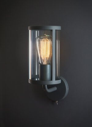Cadogan Wall Lamp - Charcoal save 50%