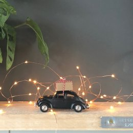 Christmas Car - Black