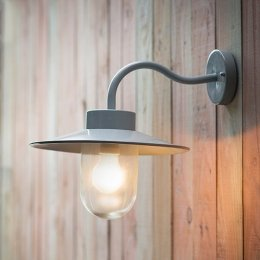 St Ives Swan Neck Light - Flint save 15%
