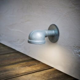 St Ives Galvanised Wall Mounted Path Light - save 25%