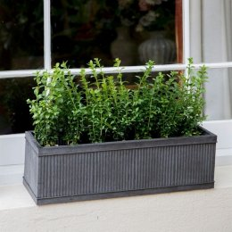 Steel Window Box - Small