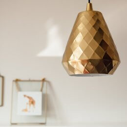 Aston Pendant Light - Brass save 15%