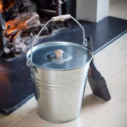 Fireside Galvanised Bucket