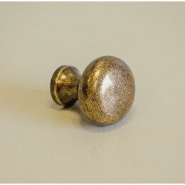 Button Cabinet Knob - Antique Brass save 25%