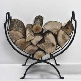 Log Basket - Iron