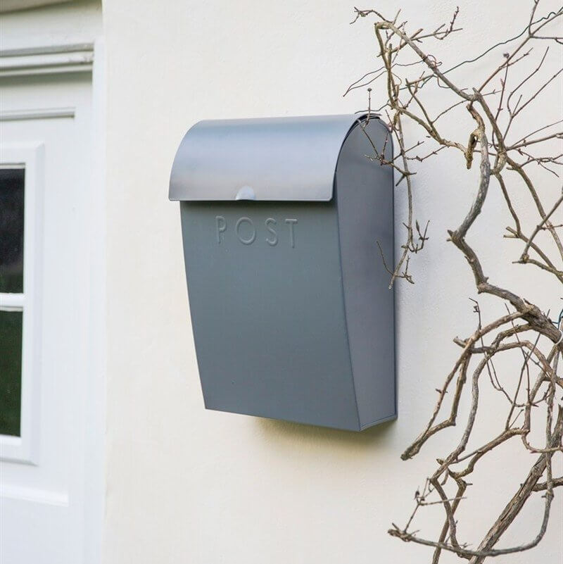 Extra Large Post Box - Charcoal