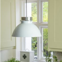 Lucas Pendant Light - White save 40%