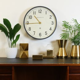 Mr Edwards Clock by Newgate - Matt Grey save 30%