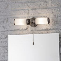Double Bathroom Wall Light - save 15%
