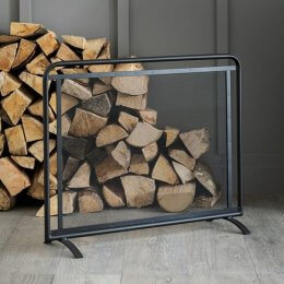 Rectangular Steel Firescreen