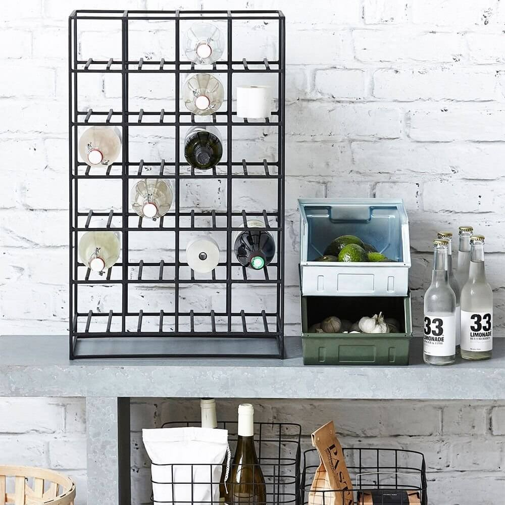 Graphic Wine Rack