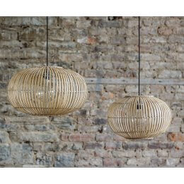 Bamboo Pendant Light Shade