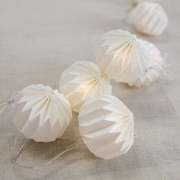 Paper Fairy Lights - Ball