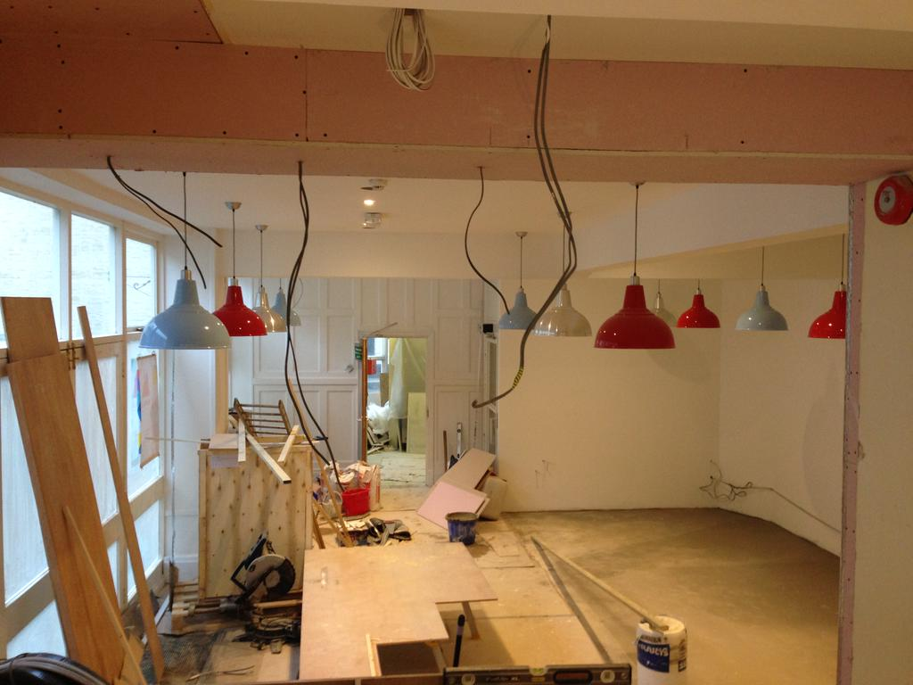 Italian Restaurant in Looe - A Work in Progress...