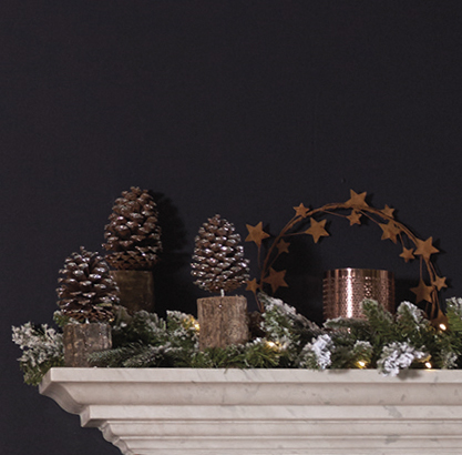 A Christmassy Mantle