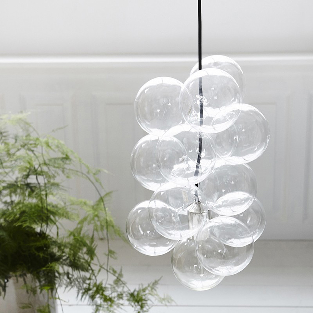 Glass ball light