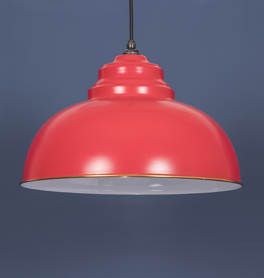 Harborne Pendant Red