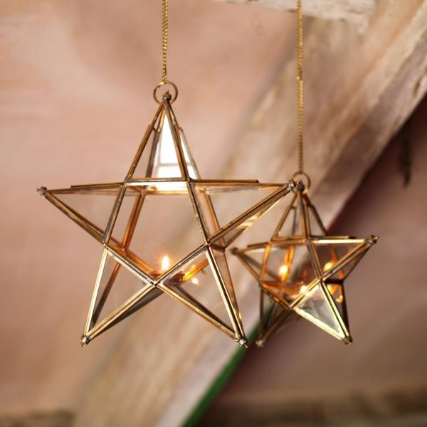 antique gold star