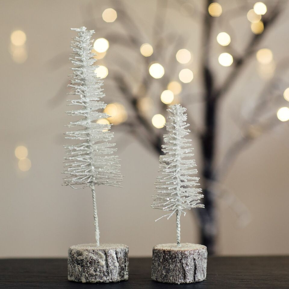 sparkly christmas trees