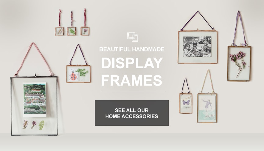 Glass Display Frames